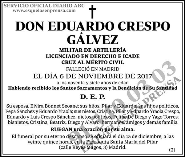 Eduardo Crespo Gálvez
